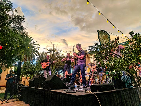 2019 Friday Night Live Jazz Concert Series - Main Gate Square